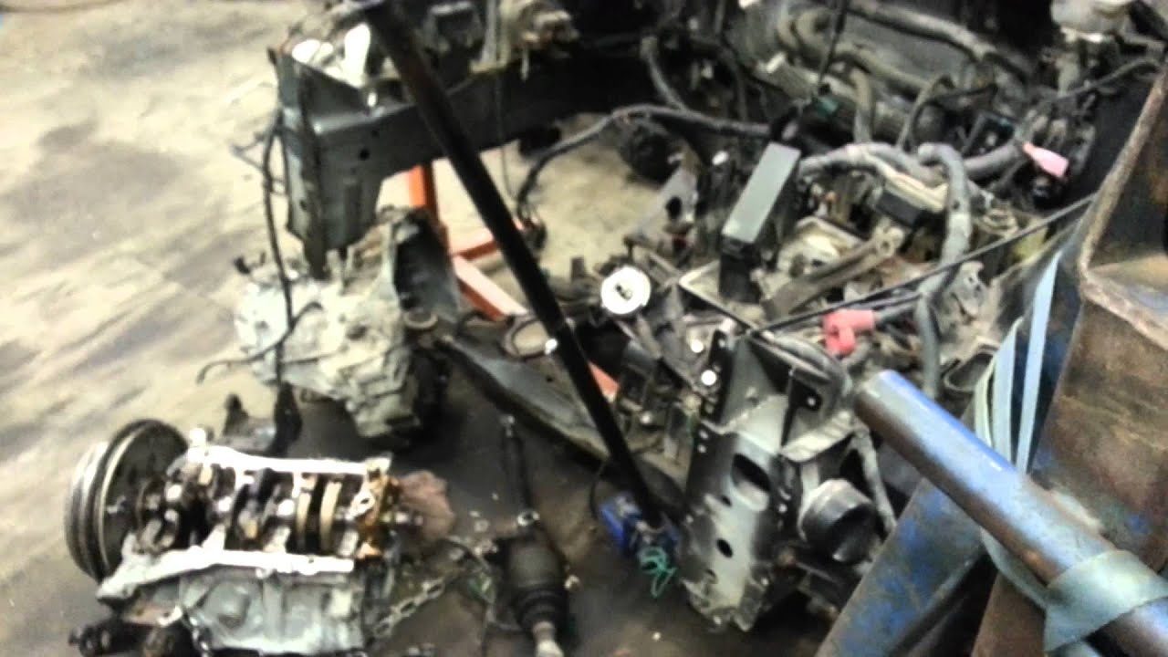 2003 NISSAN MURANO ENGINE REBUILD VQ35DE  YouTube