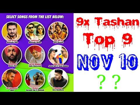 9x Tashan Top 9 of This Week- November 10, 2018 | Latest Punjabi Songs 2018 |