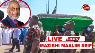 🔴#LIVE: MAZISHI YA MAALIM SEIF ZANZIBAR YANAFANYIKA MUDA HUU..
