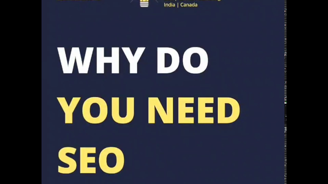 Why do you need to do SEO