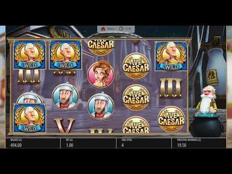 DRUID FREE SPINS! - Ave Caesar Slot - SkyVegas