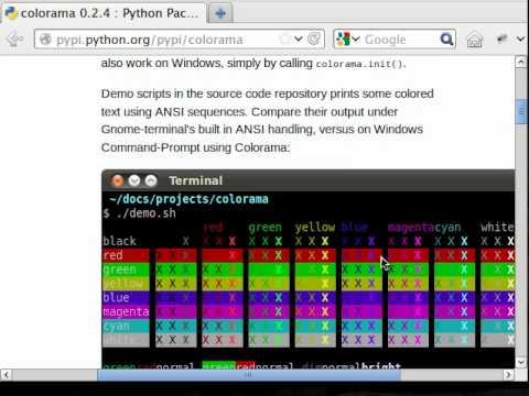 Python Colorama Introduction