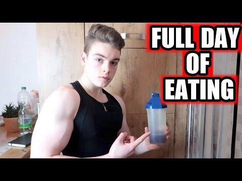 ERNÄHRUNG FÜR JUGENDLICHE BODYBUILDER - Full Day of Eating