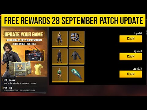 FREE Rewards OB30 Patch Update Free Fire | 28 September Update Free Fire | Free Fire New Event
