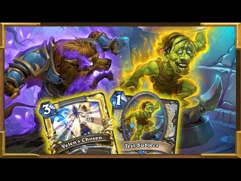 Hearthstone: Can APM Test Subject OTK Priest Win Against Odd Paladin ? Rise Of Shadowes   Wild
