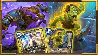 Hearthstone: Can APM Test Subject OTK Priest Win Against Odd Paladin ? Rise of Shadowes | Wild