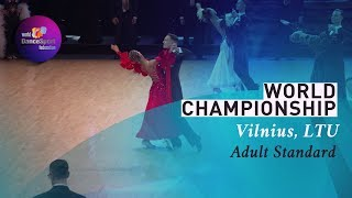 2019 World STD Vilnius  R1 Waltz