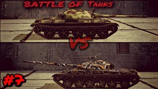 WOTBlitz: Battle of Tanks #7 Object 140 vs T62A (Who is the best Russian Medium?)