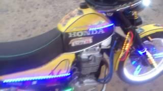 ПЛЯЖНАЯ ПОДСВЕТКА самого мото!тюнинг Блондин мотоцикл Минск-HONDAgoldving мини .Подпишись TUНЕР(, 2016-07-07T19:39:33.000Z)