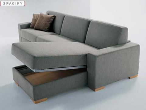 Modern sofa beds leather sofa beds daybeds youtube for Sofa jakarta