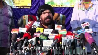 Vijaya T Rajendar Press Meet Clip 2