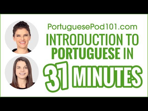Complete Introduction to Portuguese in 37 Minutes