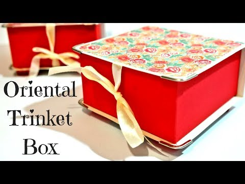 Stunning!!! Oriental Trinket box | Video Tutorial