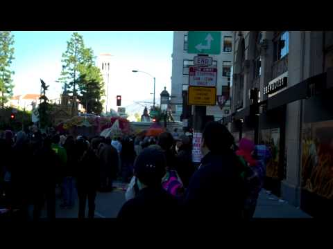 2015 Rose Parade - Love Boat Float