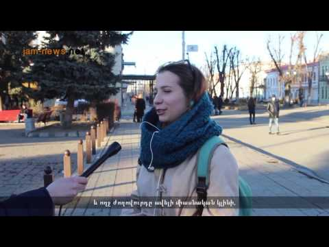 South Ossetia to become part of Russia, vox-pop in North Ossetia, Feb 2017, subtitled into Armenian