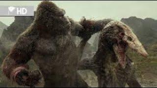Kong Kafatası Adası - Kong vs Sürünen Kafatası  Kong Skull Island - Kong vs Skull Crawler