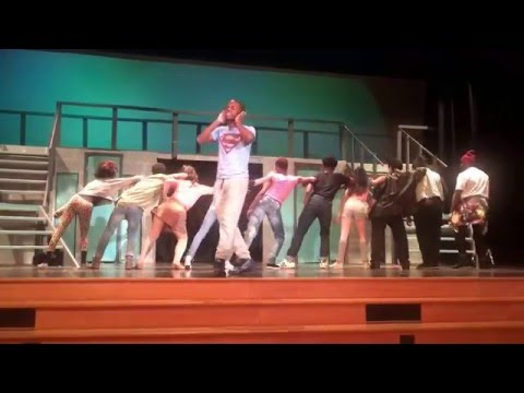 Jabrile as Tyrone in FAME / Dancing On The Sidewalk