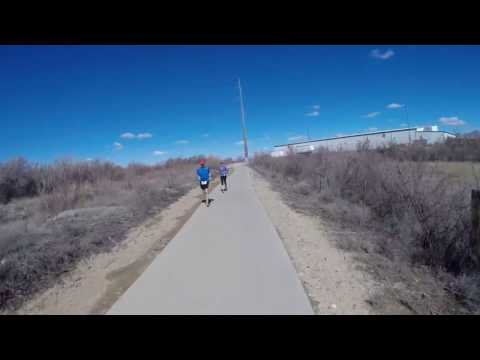 Indoor cycling on Grand Junction Colorado bike path