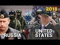 Russia vs United States – Military Power Comparison 2018