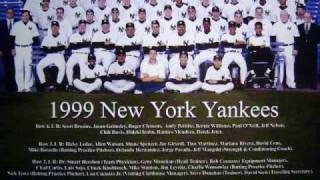 1999 New York Yankees Playoff Theme Song - Haya Doin'