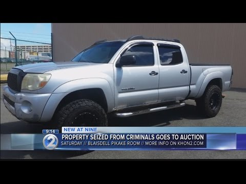 Vehicles, jewelry among seized property up for auction by state attorney general
