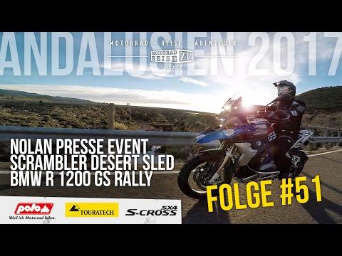 Motorradreise.TV Folge #51 – Nolan Presse Event – Ducati Scrambler Desert Sled – BMW R 1200 GS Rally