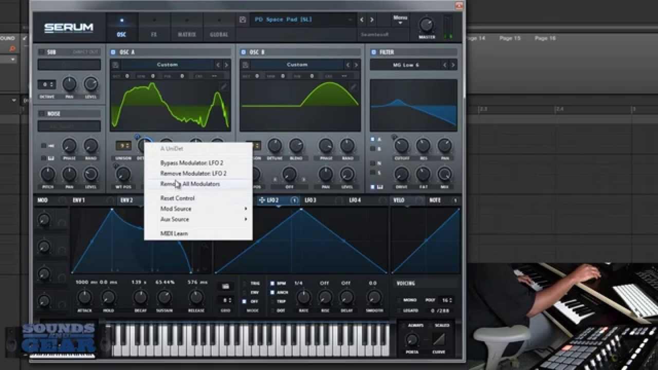 Review: Xfer Records Serum Advanced Wavetable Synthesizer -  SoundsAndGear com