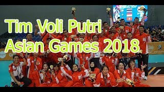 Daftar Timnas Indonesia Voli Putri Asian Games 2018