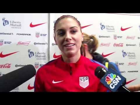 Alex Morgan - SheBelieves Cup Preview
