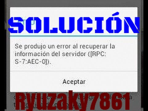 7 download aec 7 rpc play store s error