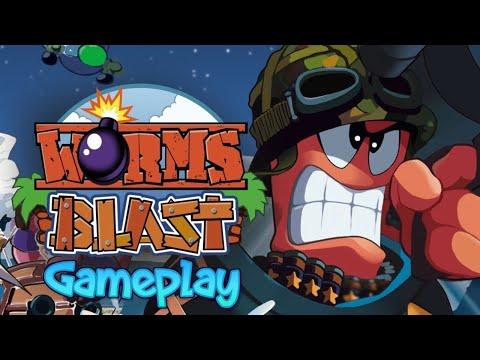 Worms Blast - Gameplay |