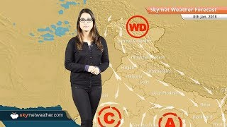 Weather Forecast Jan 8: Fog in Punjab, Haryana, Delhi, Rajasthan, UP, Rain in Andaman, Tamil Nadu