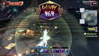 Dungeon Defenders 2 Chaos 7 Trials Solo paly Crumbled Bulwark with C7 gear DD2