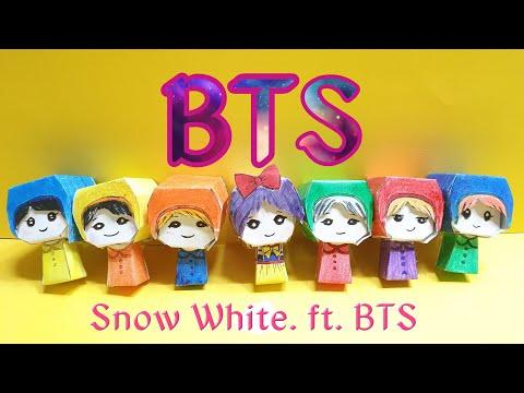 BTS DIY.K-POP DIY. Snow White and BTS fairy.백설공주와 BTS요정