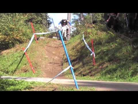 UCI MOUNTAIN BIKE WORLD CUP - DOWNHILL FINAL 2009 -  SCHLADMING , PLANAI