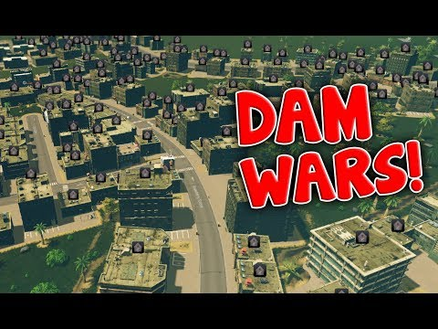 Everyone Left! - Dam Wars! - Cities Skylines - Part 6
