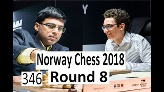 Norway Chess Round 8: Fireworks in Anand-Caruana!