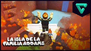 the island of the ADDAMS family - Disaster Island in ROBLOX | TGN