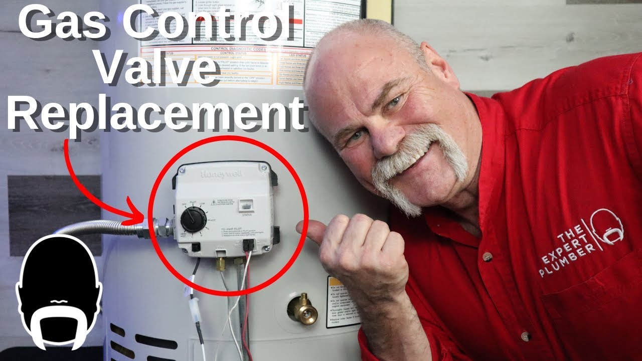 How To Replace A Gas Control Valve On Water Heater You
