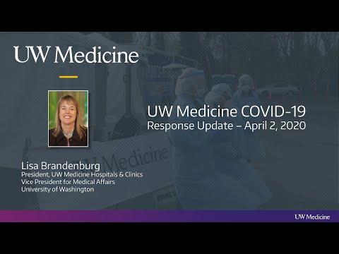 UW Medicine COVID-19 Response Update - April 3, 2020