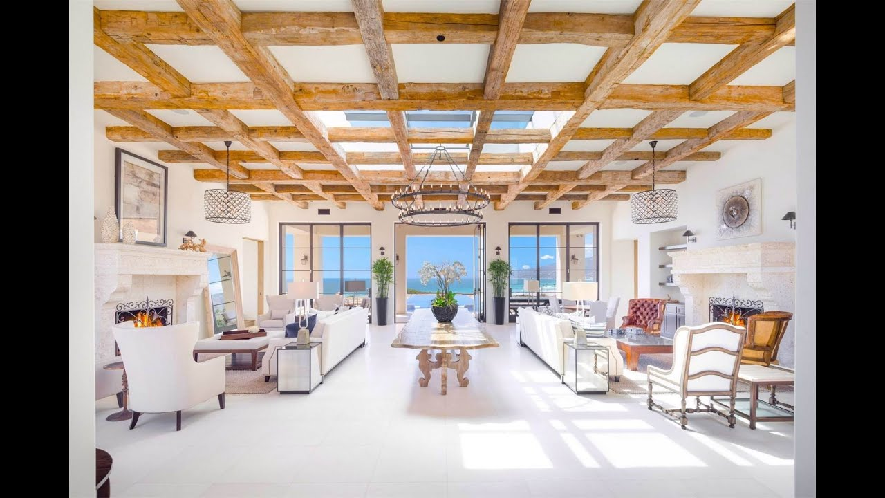 Beachfront tuscan villa in malibu california youtube - Tuscany sotheby s international realty ...