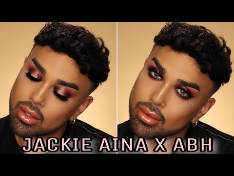 Jackie Aina X ABH Palette Tutorial | Mac Daddyy | Angel Merino thumbnail