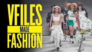 vfiles made fashion f w 2015 full runway show