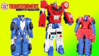 Transformers Robots in Disguise Optimus Prime Combiner Force Strongarm Become Primestrong!