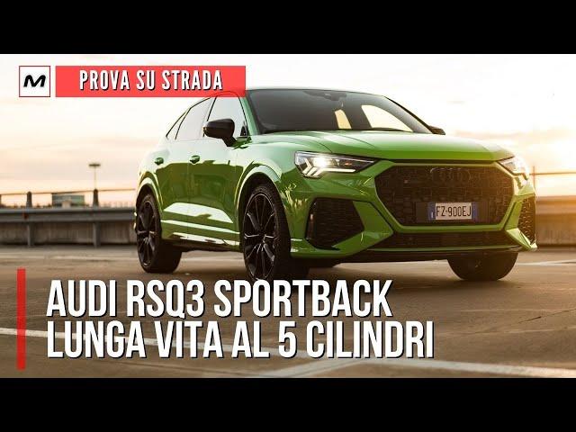 AUDI RSQ3 Sportback, PROVA SU STRADA del SUV sportivo da 400 CV