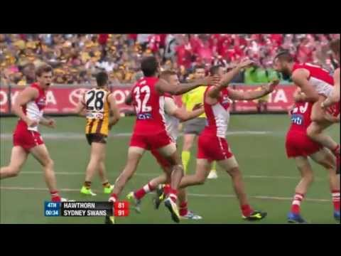 The final two minutes - AFL Grand Final