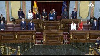 Presidenta y vicepresidentes del Congreso juran su cargo