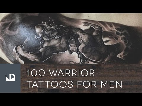 100 Warrior Tattoos For Men