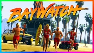 GTA ONLINE BEACH BUM 2017 SPECIAL - RARE GTA 5 VEHICLES, BAYWATCH, THE ROCK, ZAC EFRON & MORE!