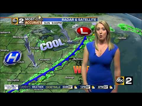 Maryland's Most Accurate Forecast - Cold Front Moving Thru